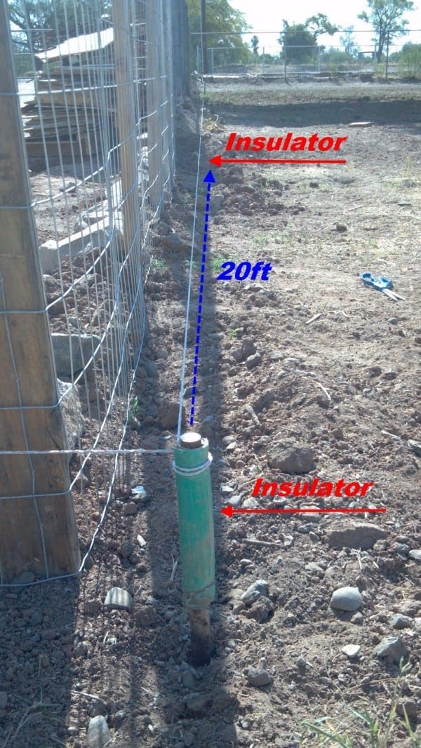 Diy Electric Fence Hot Wire For Animals Part 1