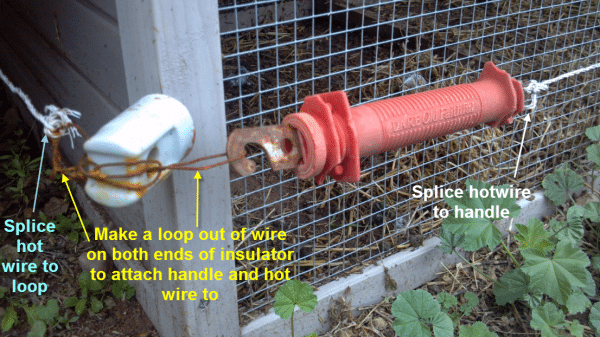 Diy Electric Fence Hot Wire For Animals Part 2