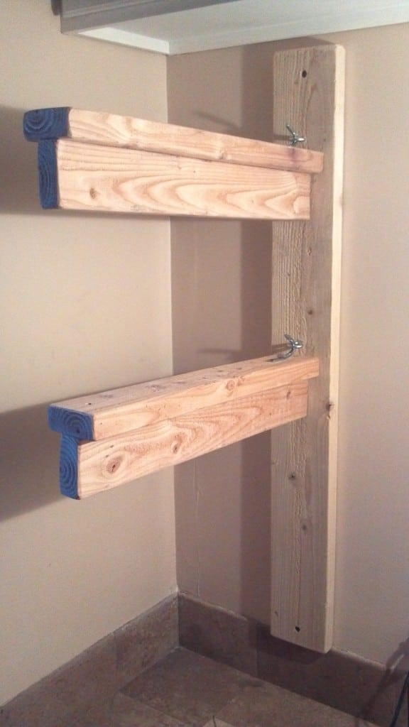 How To Build A Sturdy Amp Collapsible Saddle Rack Teediddlydee