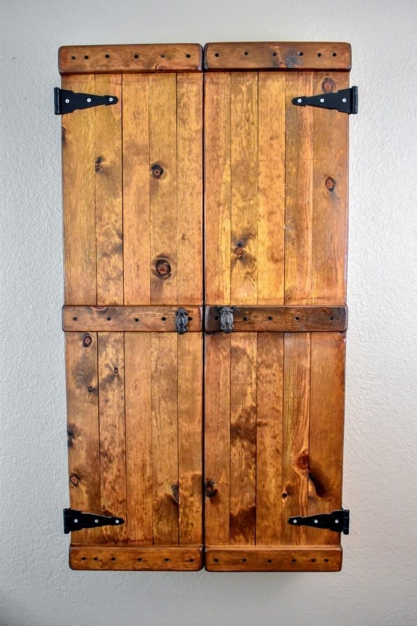The Ultimate Diy Rustic Jewelry Cabinet Attractive With Lots Of